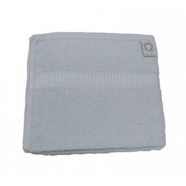 Serviette de Toilette Bleu BIO 450 gr/m²