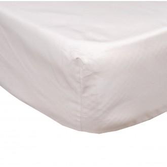 Drap Housse 90 x 190 Blanc