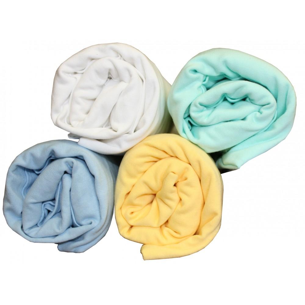 drap housse en coton jersey pour matelas 65x140. Black Bedroom Furniture Sets. Home Design Ideas