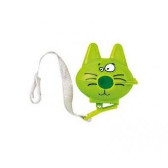 Boîte Attache sucette Chat Vert