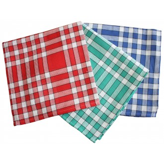 Serviette carreaux normands 45 x 45 cm