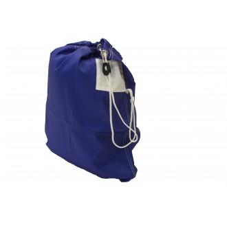 Petit sac à linge bleu