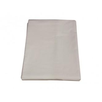 Drap plat blanc 120 x 180 cm