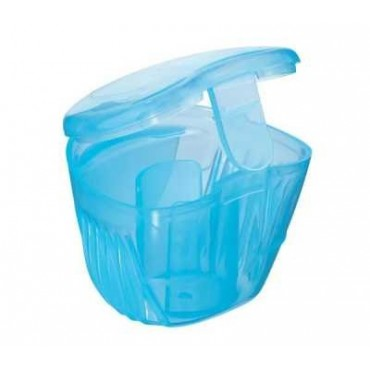 Boîte stérilisation sucette Bleue