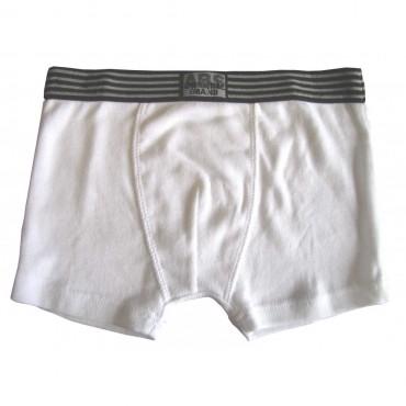 Boxer Absorba Blanc