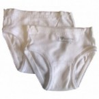 Lot de 2 Culottes Absorba Blanches