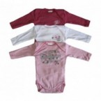 Lot de 3 body ML Absorba Girl