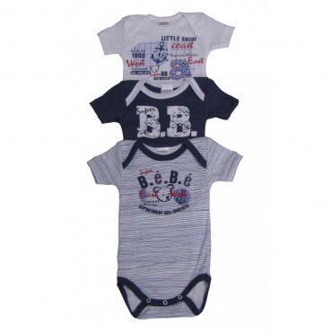 Body Lot de 3 MC Absorba Super bébé