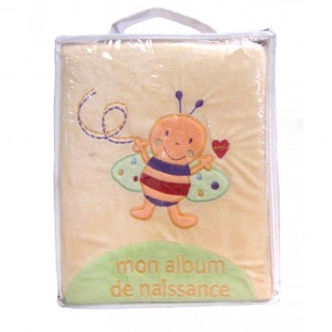 Mon album de Naissance Abeille