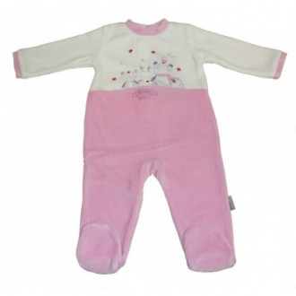 Pyjama velours Absorba Family Fille