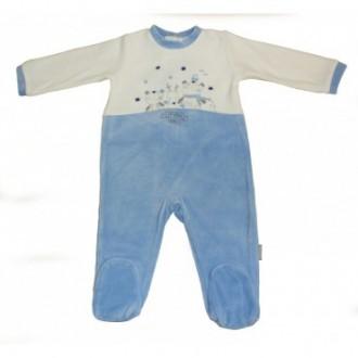 Pyjama velours Absorba Family Garçon