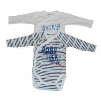 Lot de  2 body cache coeur ML baby rock