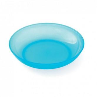 Assiette creuse Bleu Lagon LOT DE 12