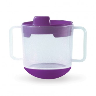 Tasse inversable violet