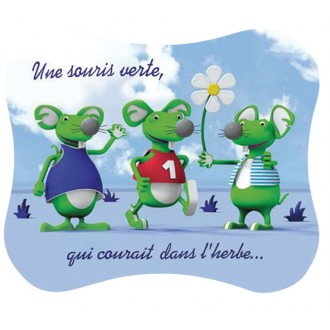 Set de table Souris Verte