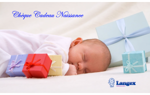 Chèque cadeau Naissance